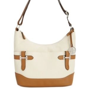 Giani Bernini Colorblock Bridle Leather Hobo NWT
